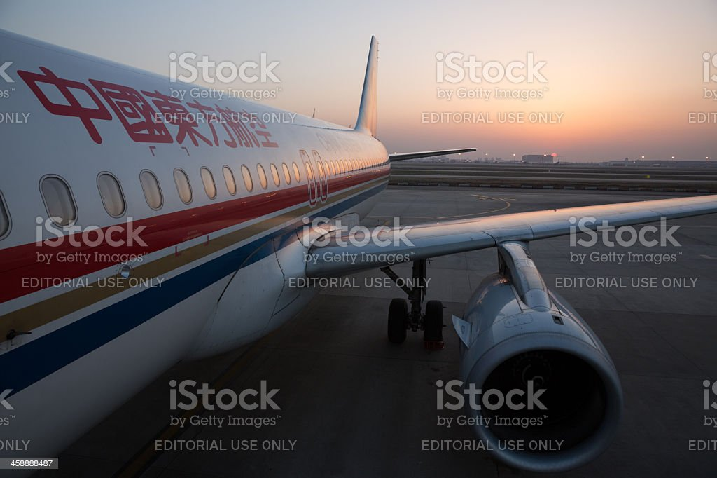 China Eastern Airlines Airbus A320 stock photo