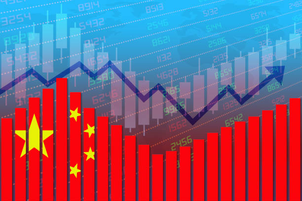 China Economy Improves and Returns to Normal After Crisis stock photo