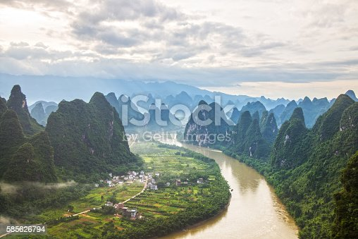 istock China Guilin Messire mountain scenery 585626794