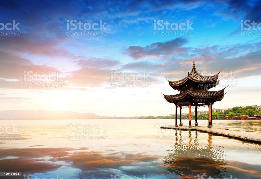 China Hangzhou West Lake stock photo