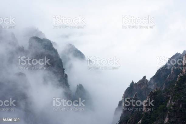 Photo of China Huangshan winter