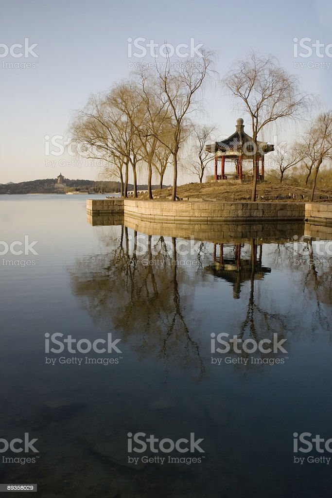 Cina paesaggio foto stock royalty-free