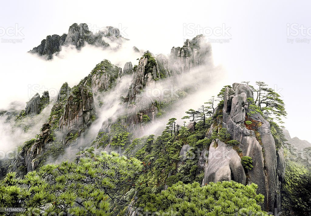 China national park stock photo