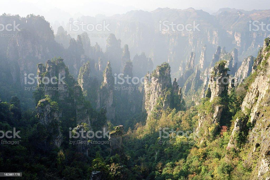 China National Park stock photo