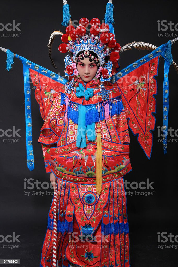 china opera royalty-free stock photo