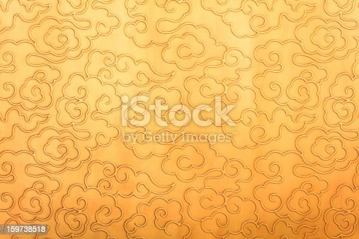 Chinese traditional pattern of auspicious clouds, on behalf of the auspicious significance.