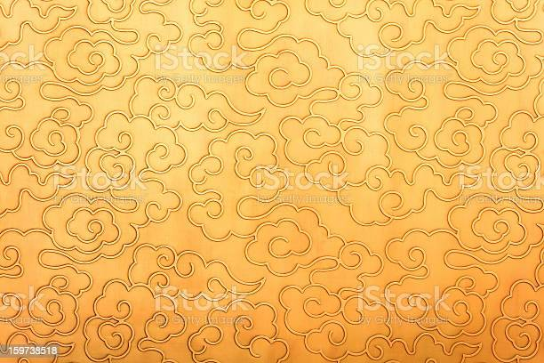 Photo of China retro style background texture