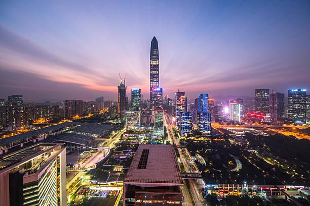 China, shenzhen Wolkenkratzer – Foto