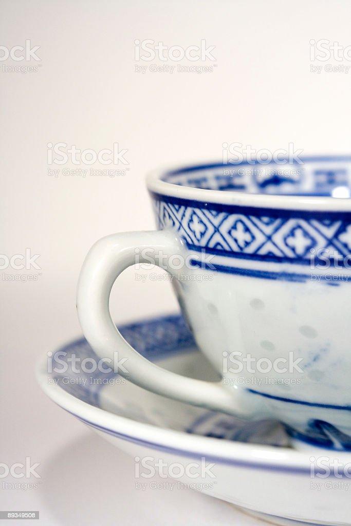China Tea Cups royalty-free stock photo