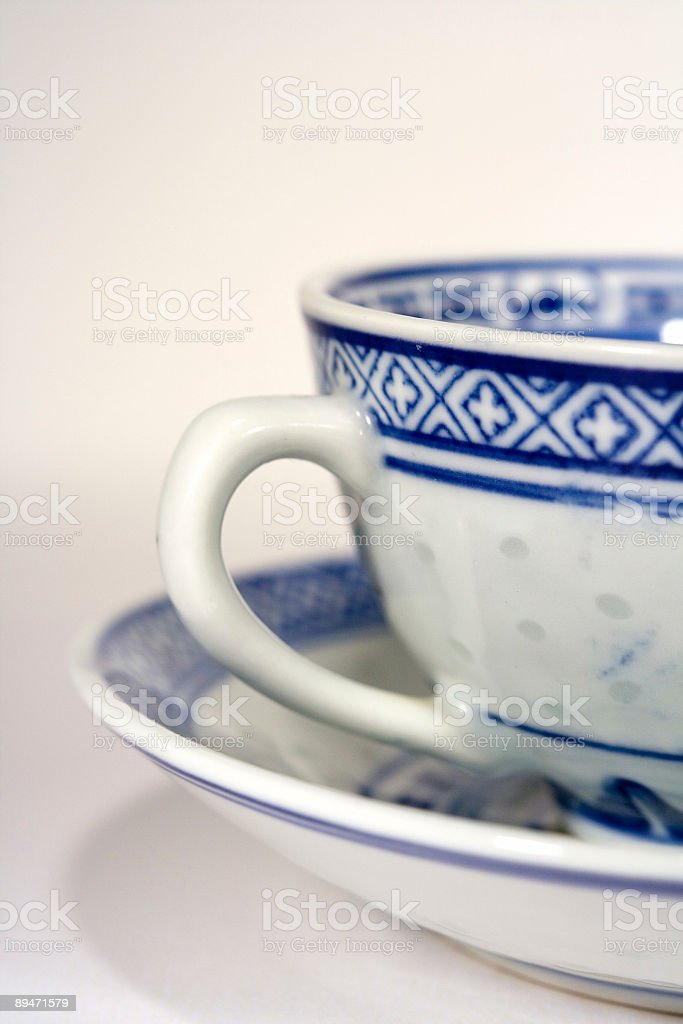 China Tea Cups royalty-free stock photo