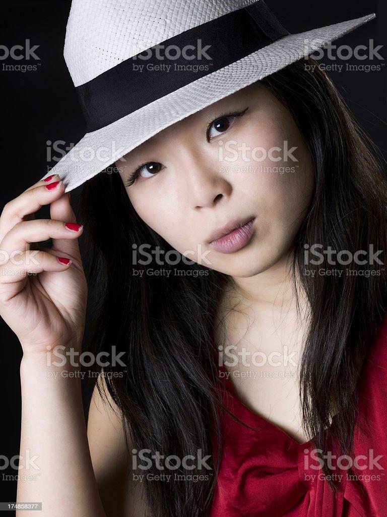 China teen royalty-free stock photo