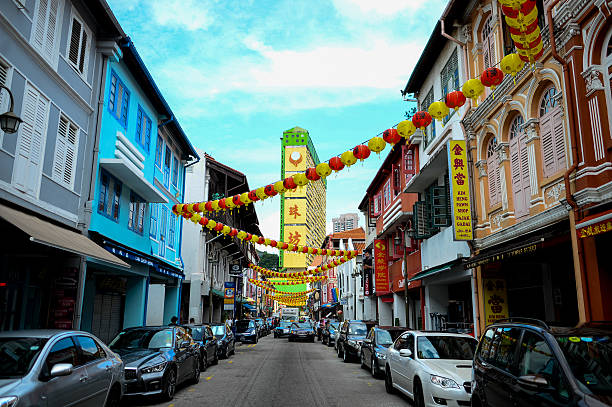 China Town at Singapore