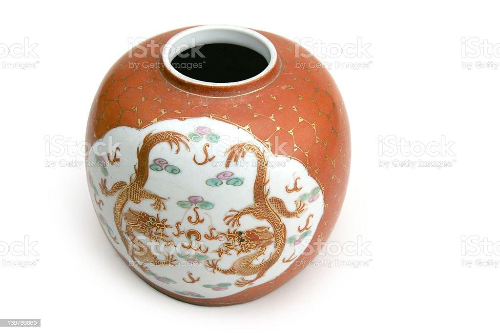 China Vase stock photo