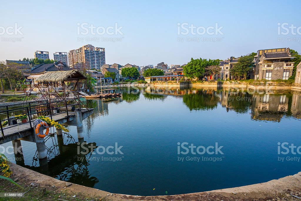 China's ancient villages stock photo