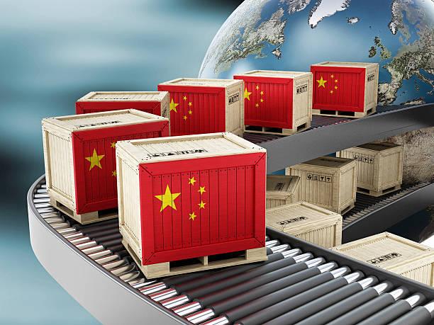 global esportazione cina - cina foto e immagini stock
