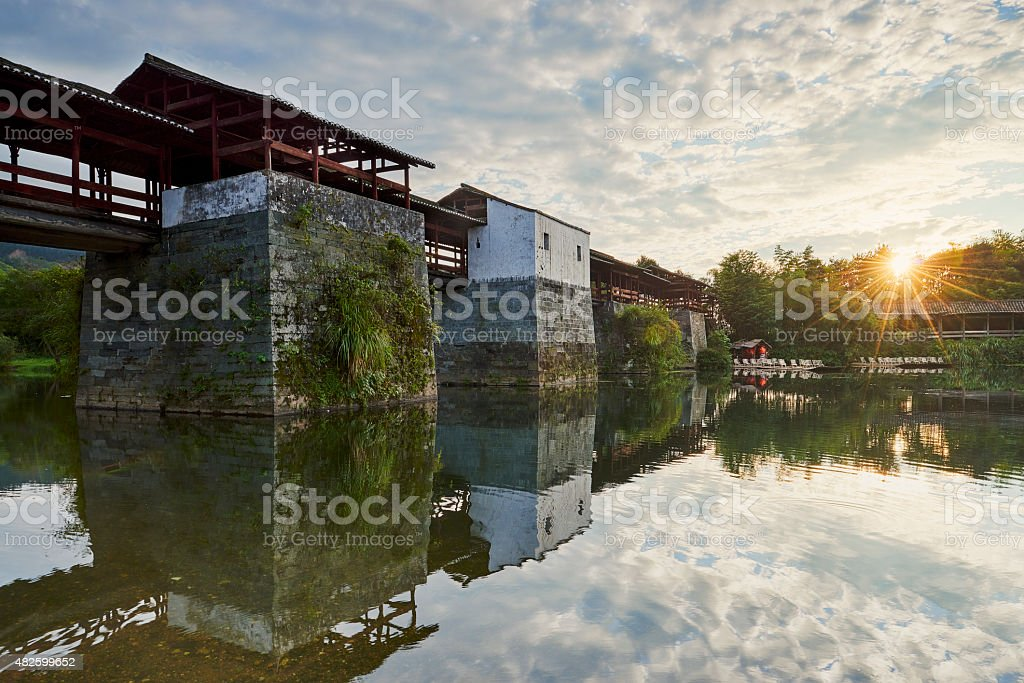 China's Old Dwellings stock photo