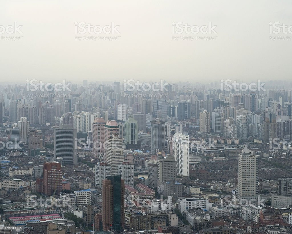 China's Pollution Problems royalty-free stock photo