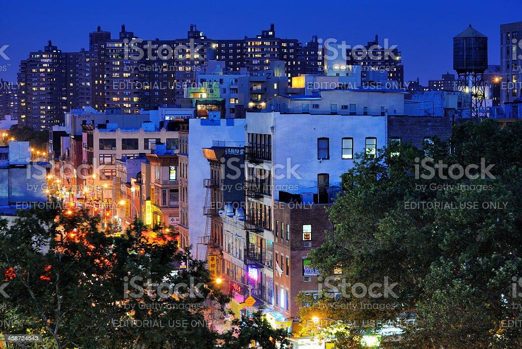 Chinatown Cityscape stock photo