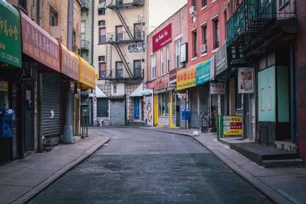 Chinatown during COVID-19 Quarantine stock photo