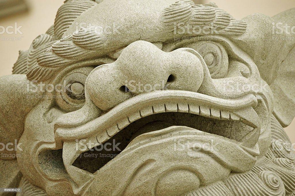 Chinatown Fu Dog royalty-free stock photo