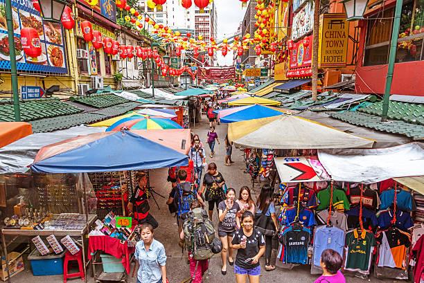 Chinatown in Kuala Lumpur, Malaysia – Foto