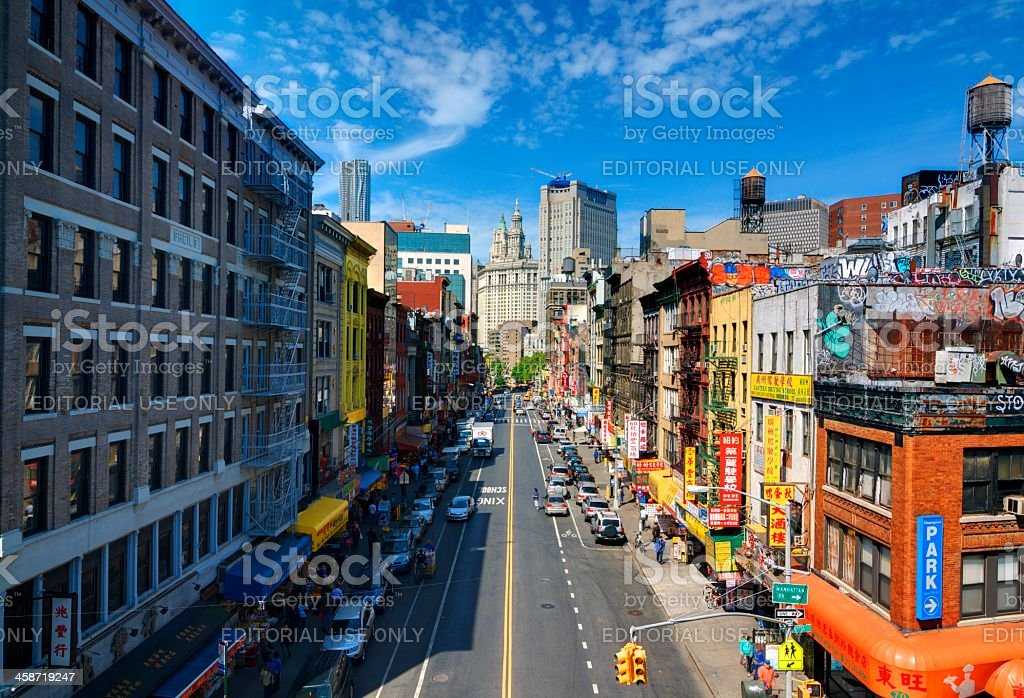 Chinatown NYC stock photo