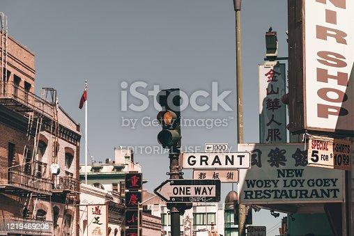 August 10, 2018, San Francisco, California - Chinatown of San Francisco
