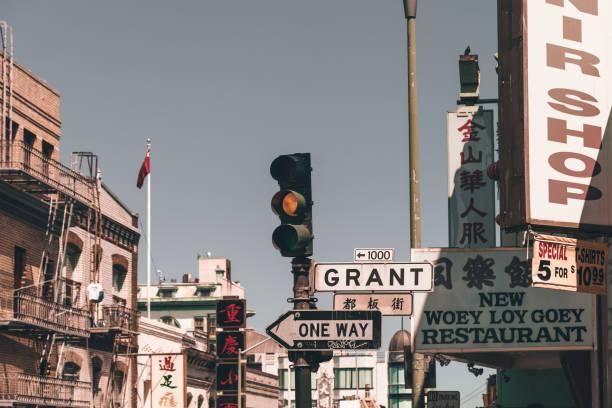 Chinatown of San Francisco stock photo