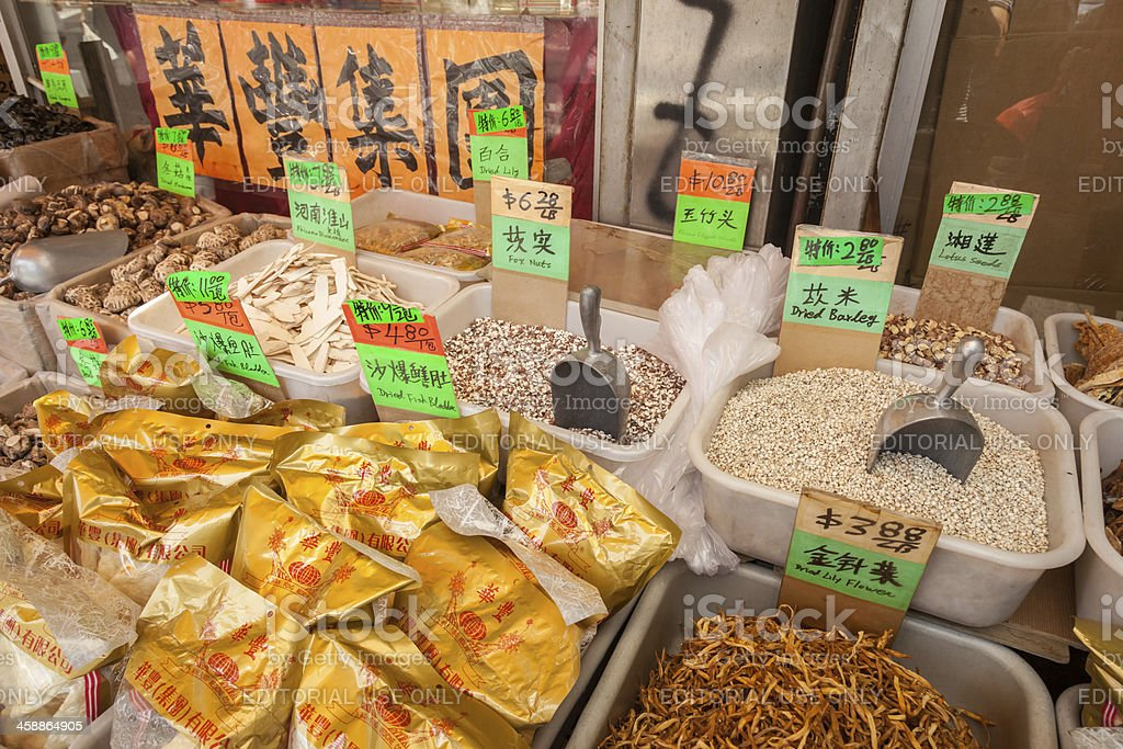 Chinatown Offering royalty-free stock photo
