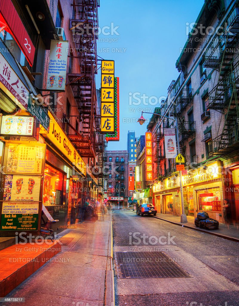 Chinatown stock photo