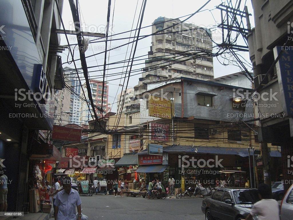 Chinatown, Santa Cruz district - Manila Philippines stock photo