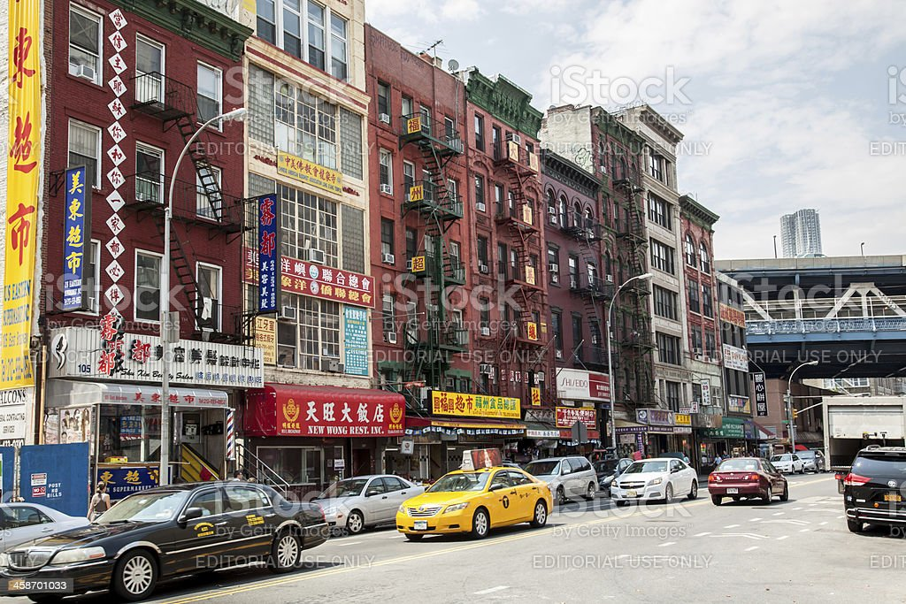 Chinatown Street stock photo