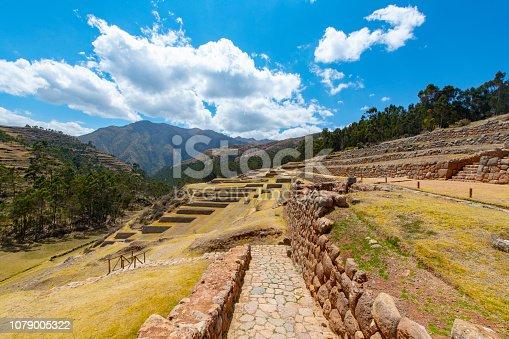 istock Chinchero Inca ruins in the Sacred Valley, Peru 1079005322