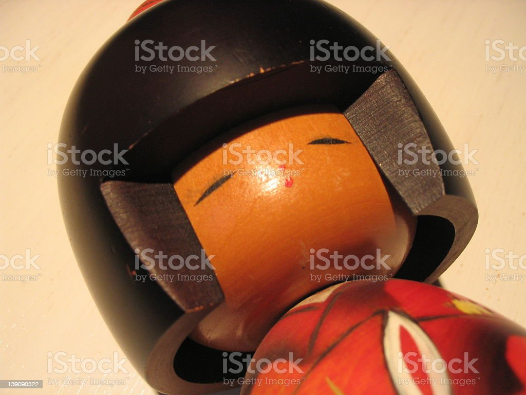 Chinees Doll royalty-free stock photo