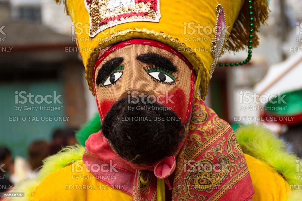 Chinelo mask stock photo