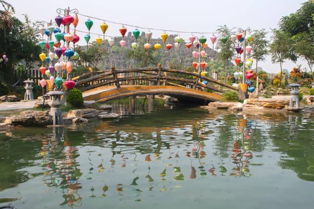 Chines-Brücke im Tam Coc-Gebiet – Foto