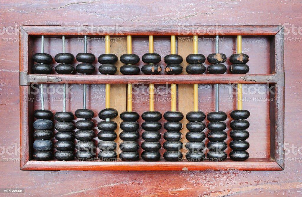 Fotografía de Ábaco Chino Antiguo Calculadora Antigua Retro ...