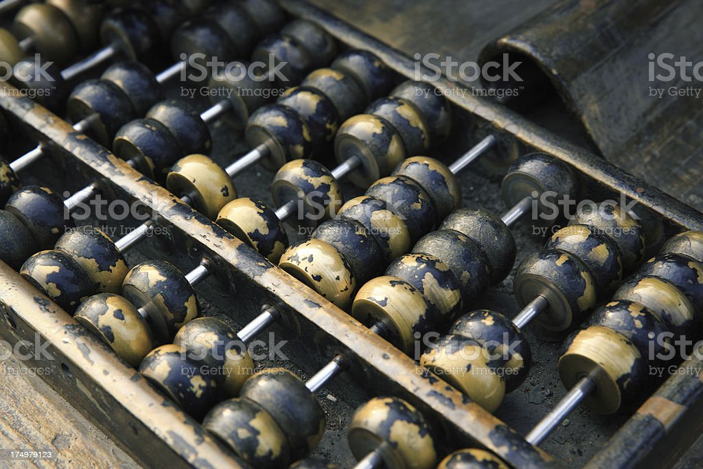 Chinese Abacus royalty-free stock photo