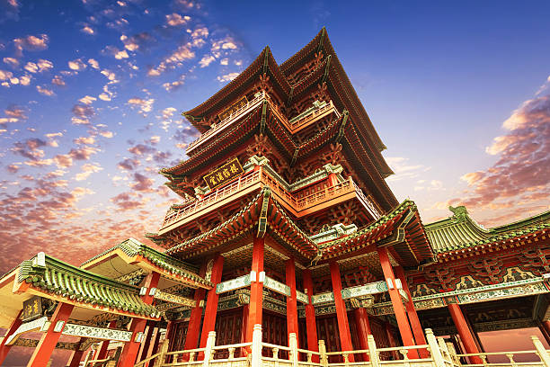Chinese ancient architecture, ancient religious Chinese ancient architecture, ancient religious forbidden city stock pictures, royalty-free photos & images