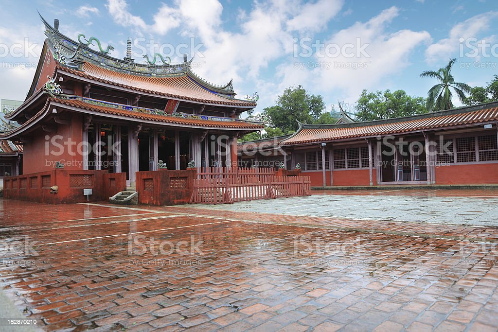 Chinese Ancient Architecture royalty-free stock photo