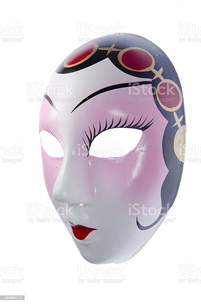 Chinese Ancient Opera Mask Stock Photo - Download Image Now