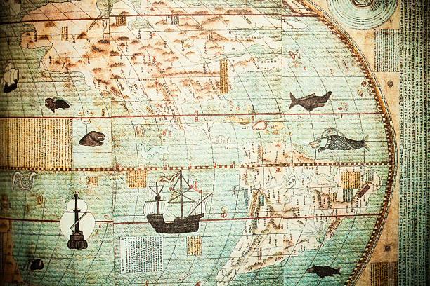 chinesische antike karte - chinesische zeichen tattoos stock-fotos und bilder