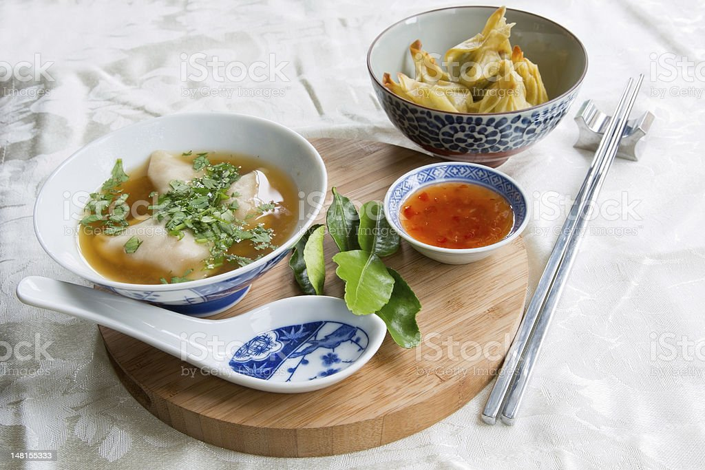 Chinese Appetizers stock photo