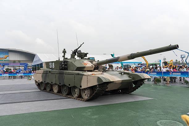 chinese army 99 main battle tanks show. - chinese military bildbanksfoton och bilder