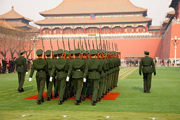 chinese army - chinese military bildbanksfoton och bilder