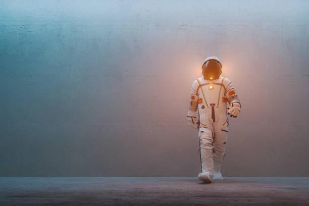 Chinese astronaut stock photo