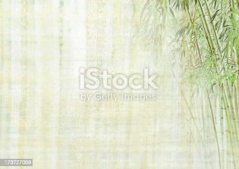 istock Chinese background with bamboo 173727059