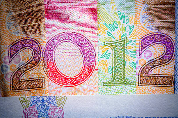 Chinese bank note new year 2012 Chinese bank note new year 2012 financial background 2012 stock pictures, royalty-free photos & images