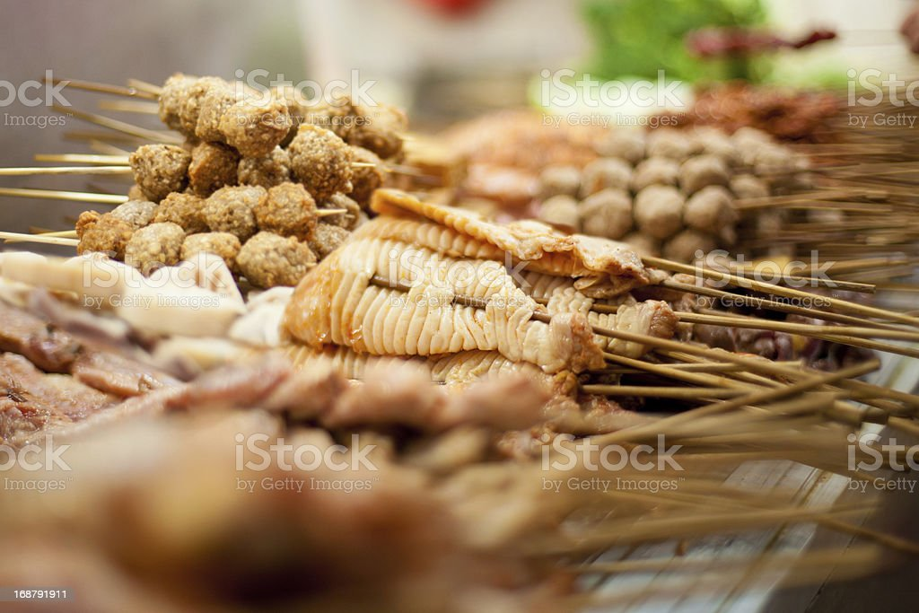 Chinese barbeque royalty-free stock photo