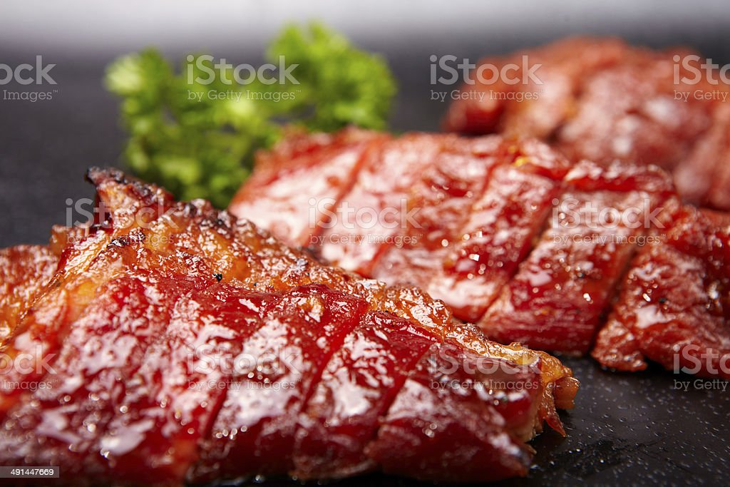 Chinese BBQ Pork stock photo